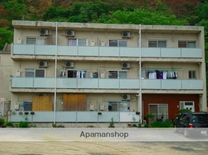 愛媛県松山市、南町駅徒歩24分の築32年 3階建の賃貸アパート