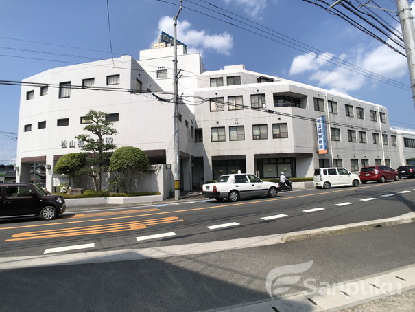 松山城東病院 306m