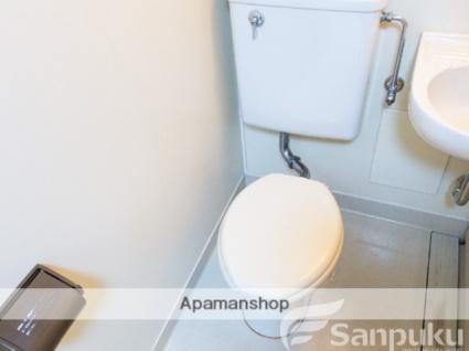 愛媛県松山市土橋町[1K/23.07m2]のトイレ