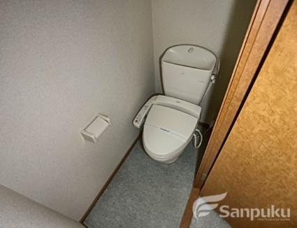 レオパレスクレールシェル さや[1K/23.18m2]のトイレ