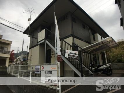 愛媛県松山市、久米駅徒歩16分の築19年 2階建の賃貸アパート