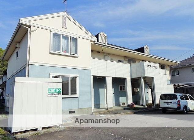 愛媛県東温市、梅本駅徒歩10分の築24年 2階建の賃貸アパート