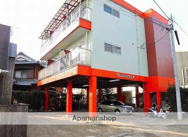 愛媛県東温市、田窪駅徒歩13分の築36年 3階建の賃貸マンション