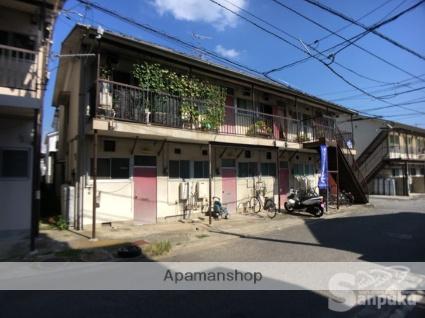 愛媛県松山市、石手川公園駅徒歩16分の築41年 2階建の賃貸アパート