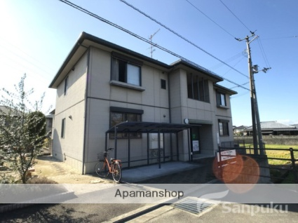 愛媛県松山市、堀江駅徒歩8分の築14年 2階建の賃貸アパート