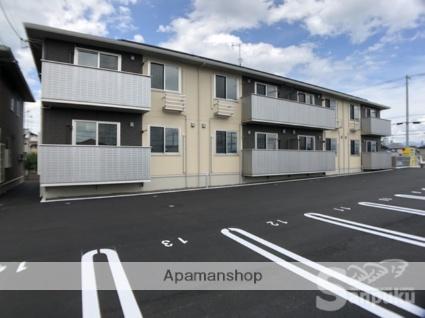 愛媛県松山市の新築 2階建の賃貸アパート