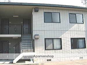 愛媛県東温市、愛大医学部南口駅徒歩5分の築23年 2階建の賃貸アパート