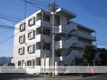 愛媛県東温市、梅本駅徒歩10分の築23年 4階建の賃貸マンション