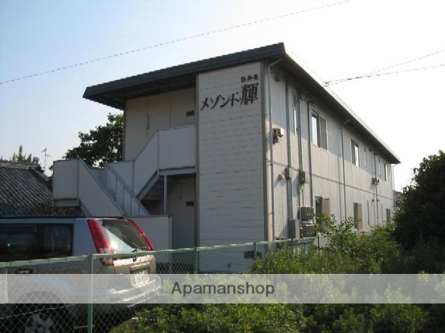 愛媛県東温市、愛大医学部南口駅徒歩11分の築32年 2階建の賃貸アパート