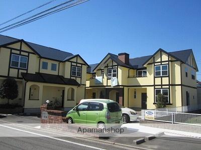 愛媛県東温市、見奈良駅徒歩15分の築16年 2階建の賃貸アパート