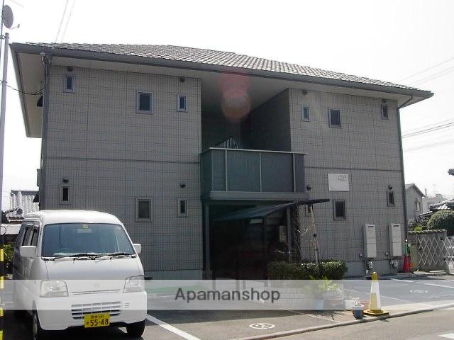 愛媛県東温市、牛渕駅徒歩11分の築17年 2階建の賃貸アパート