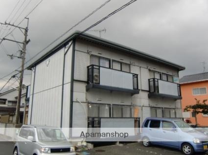 愛媛県東温市、牛渕駅徒歩9分の築23年 2階建の賃貸アパート