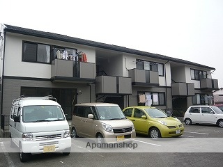 愛媛県伊予市の築21年 2階建の賃貸アパート
