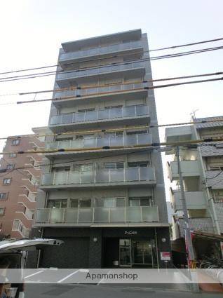 愛媛県松山市、古町駅徒歩5分の築4年 8階建の賃貸マンション
