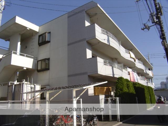 愛媛県松山市、西衣山駅徒歩14分の築26年 3階建の賃貸マンション