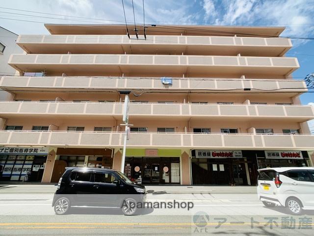 愛媛県東温市、愛大医学部南口駅徒歩14分の築23年 6階建の賃貸マンション