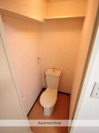 エクレール味酒[1K/21.24m2]のトイレ
