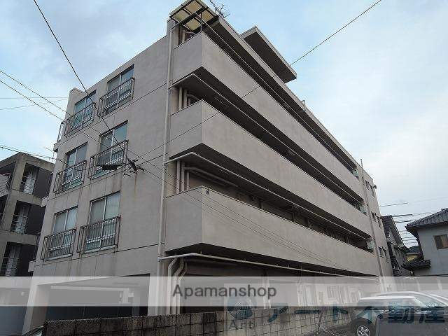 愛媛県松山市、勝山町駅徒歩16分の築43年 4階建の賃貸マンション