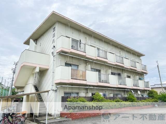 愛媛県東温市、田窪駅徒歩15分の築32年 3階建の賃貸マンション