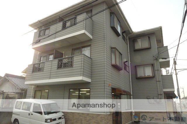 愛媛県松山市、平井駅徒歩3分の築23年 3階建の賃貸マンション