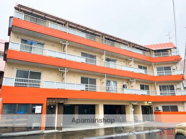 愛媛県東温市、愛大医学部南口駅徒歩9分の築30年 4階建の賃貸マンション