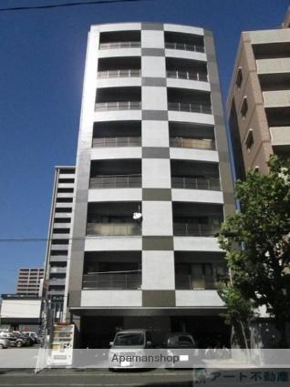 愛媛県松山市、勝山町駅徒歩4分の築13年 8階建の賃貸マンション