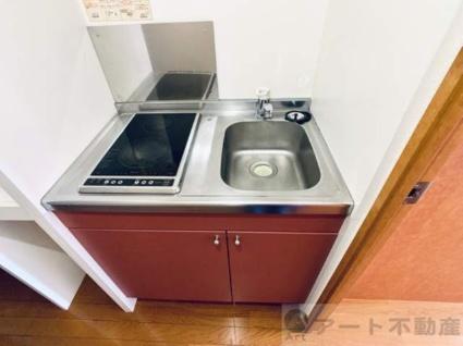 レオパレス古川Ⅲ[1K/23.61m2]のキッチン