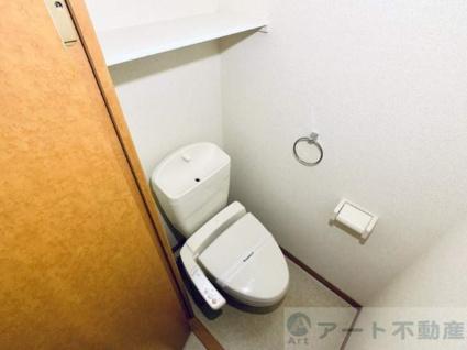 レオパレス古川Ⅲ[1K/23.61m2]のトイレ