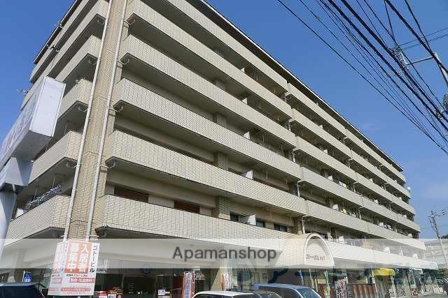愛媛県松山市、北久米駅徒歩12分の築27年 7階建の賃貸マンション