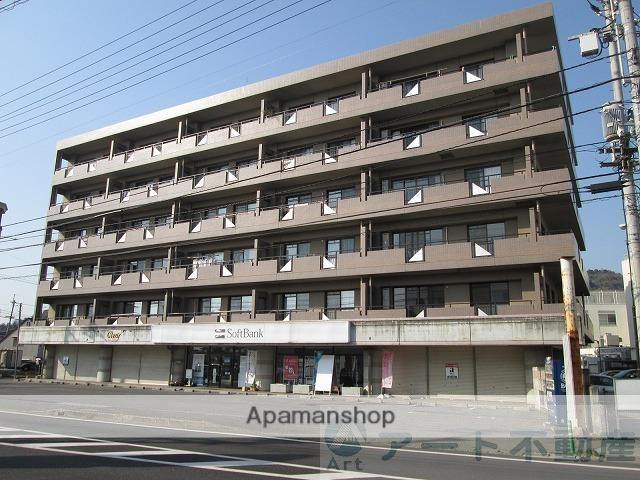 愛媛県松山市、久米駅徒歩14分の築20年 6階建の賃貸マンション