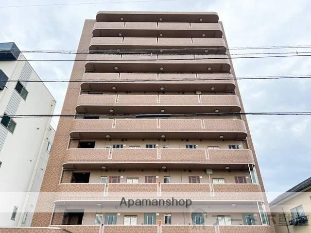 愛媛県松山市、勝山町駅徒歩16分の築8年 10階建の賃貸マンション