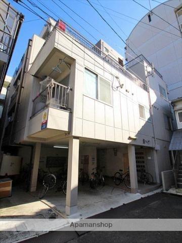 愛媛県松山市、清水町駅徒歩2分の築34年 4階建の賃貸アパート