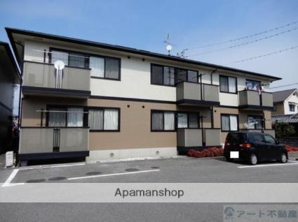 愛媛県伊予市、鳥ノ木駅徒歩11分の築16年 2階建の賃貸アパート