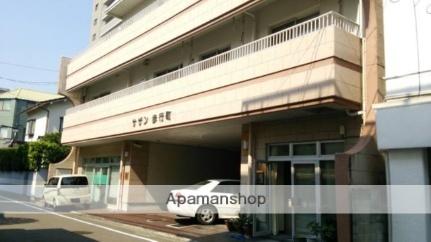 愛媛県松山市、勝山町駅徒歩2分の築36年 8階建の賃貸マンション