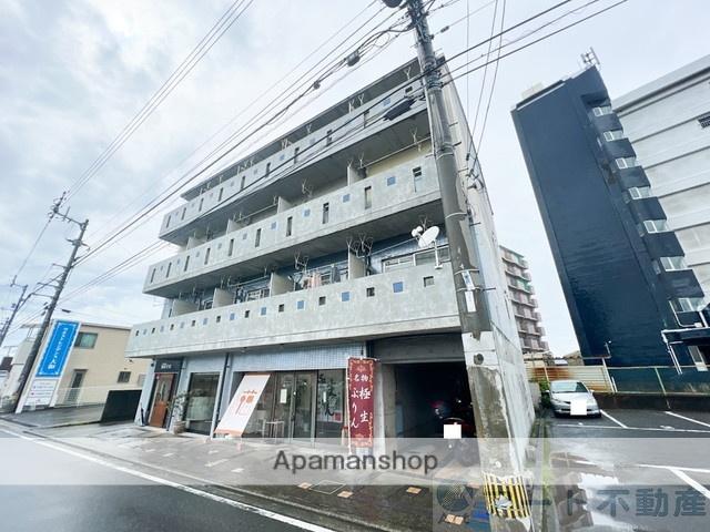 愛媛県松山市、木屋町駅徒歩15分の築27年 4階建の賃貸マンション