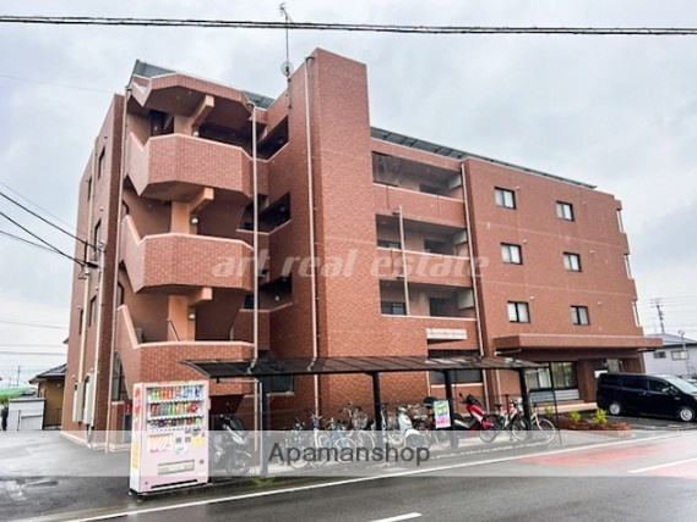 愛媛県東温市、牛渕駅徒歩9分の築12年 4階建の賃貸マンション