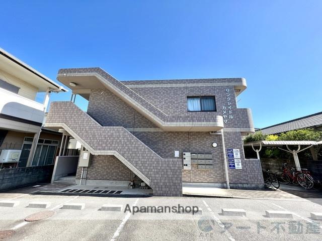 愛媛県松山市、北久米駅徒歩19分の築13年 2階建の賃貸アパート