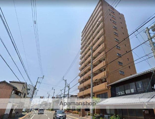 愛媛県松山市、三津浜駅徒歩15分の築25年 14階建の賃貸マンション