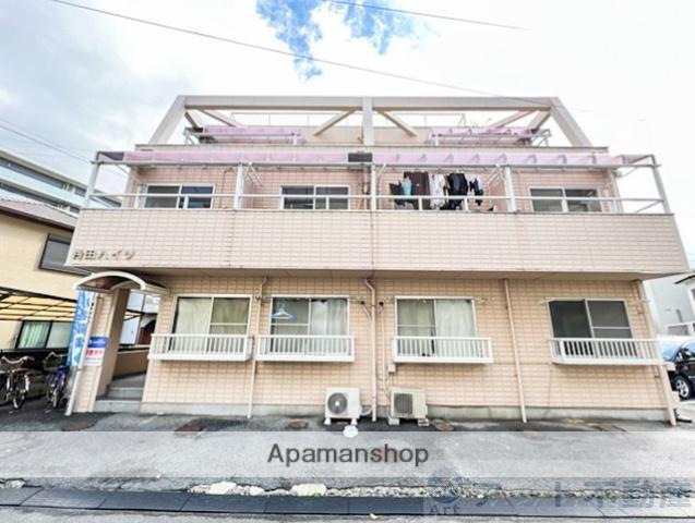 愛媛県松山市、勝山町駅徒歩4分の築28年 3階建の賃貸マンション