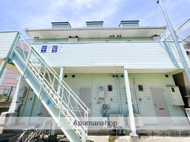 愛媛県松山市の築27年 2階建の賃貸アパート