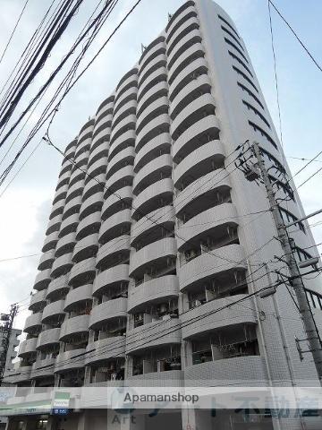 愛媛県松山市、本町5丁目駅徒歩1分の築28年 15階建の賃貸マンション
