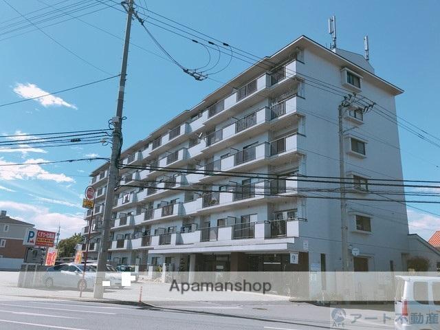 愛媛県松山市、土橋駅徒歩8分の築28年 6階建の賃貸マンション