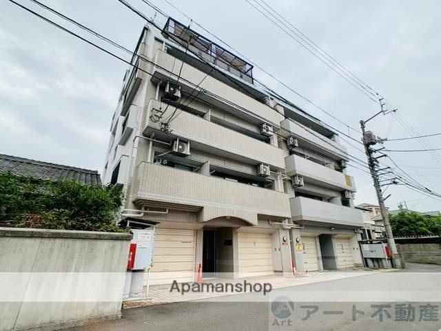 愛媛県松山市、勝山町駅徒歩4分の築25年 5階建の賃貸マンション