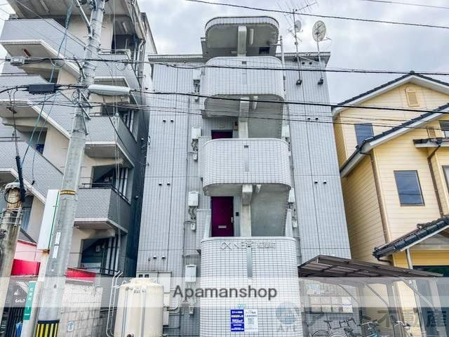愛媛県松山市、勝山町駅徒歩20分の築27年 4階建の賃貸マンション