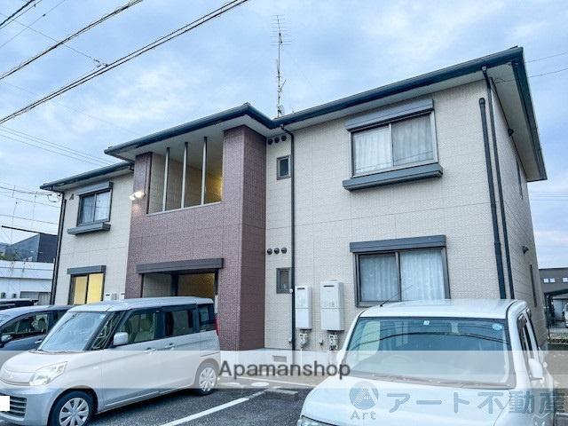 愛媛県松山市、伊予北条駅徒歩11分の築18年 2階建の賃貸アパート