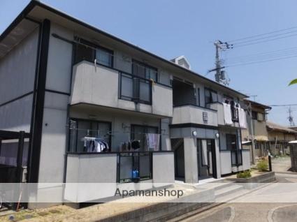 愛媛県伊予市、松前駅徒歩18分の築24年 2階建の賃貸アパート
