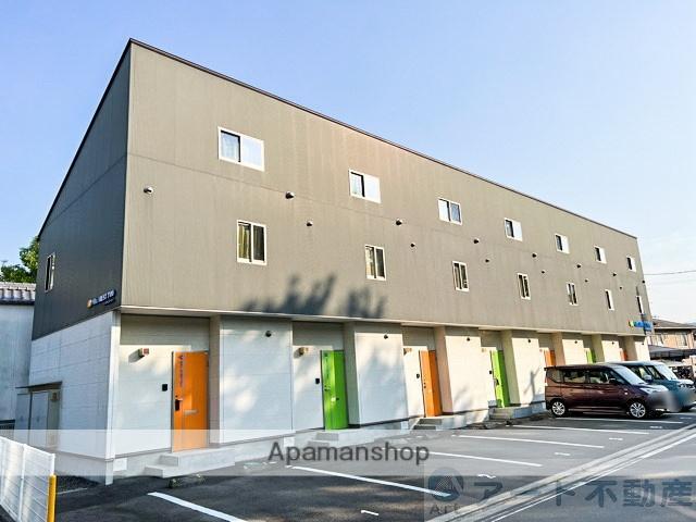 愛媛県東温市、見奈良駅徒歩12分の築6年 2階建の賃貸アパート