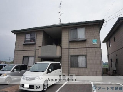 愛媛県松山市の築13年 2階建の賃貸アパート