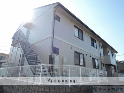 愛媛県松山市、粟井駅徒歩12分の築20年 2階建の賃貸アパート