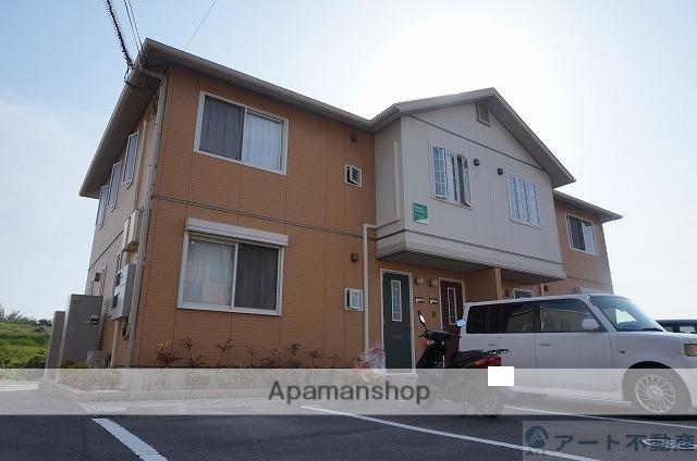 愛媛県松山市、余戸駅徒歩19分の築10年 2階建の賃貸アパート